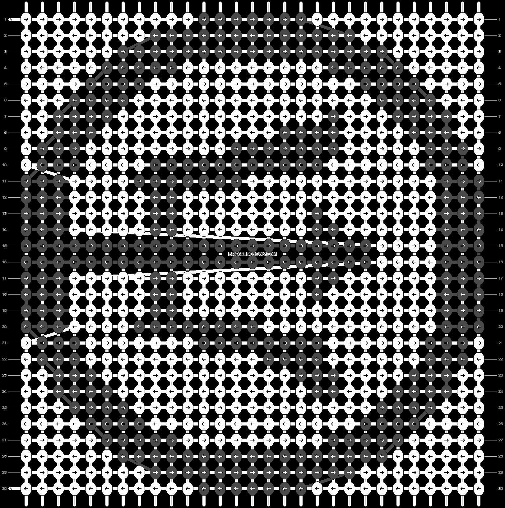 Alpha pattern #29798 pattern