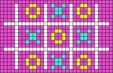 Alpha pattern #29799