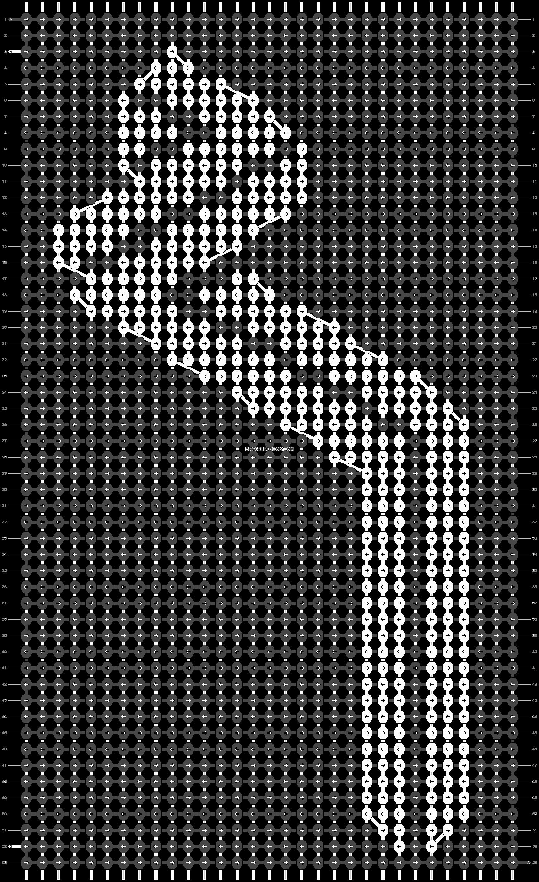 Alpha pattern #29801 pattern