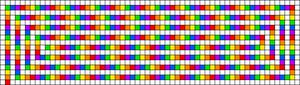 Alpha pattern #29806