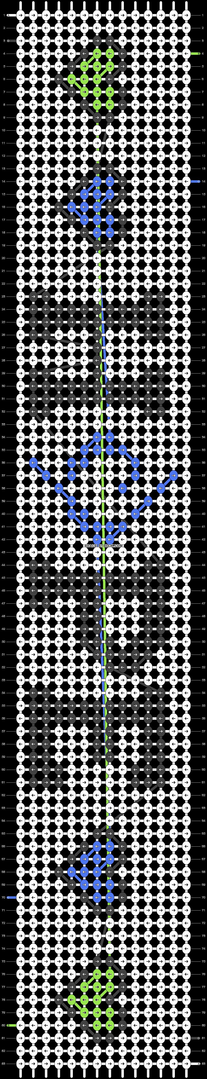 Alpha pattern #29820 pattern