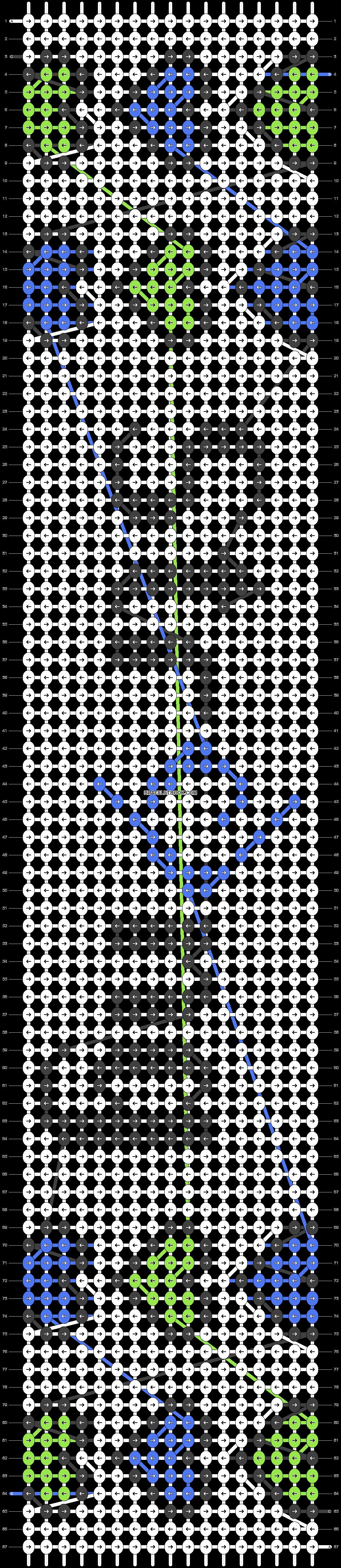 Alpha pattern #29828 pattern