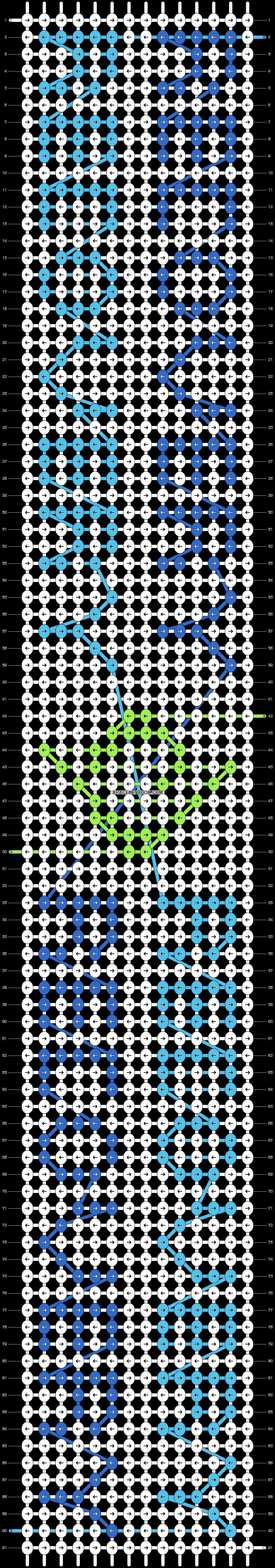 Alpha pattern #29829 pattern