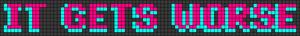Alpha pattern #29838
