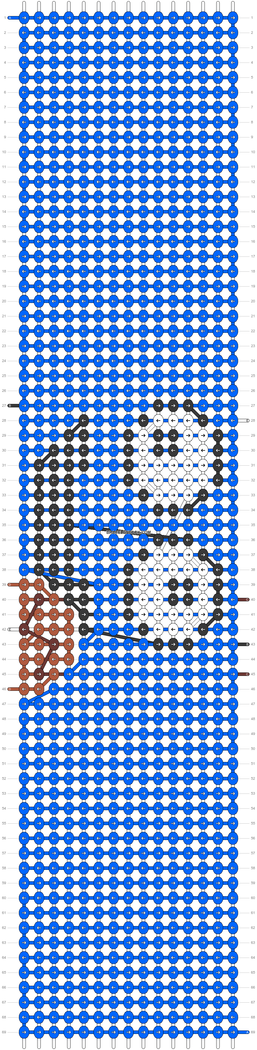 Alpha pattern #29851 pattern