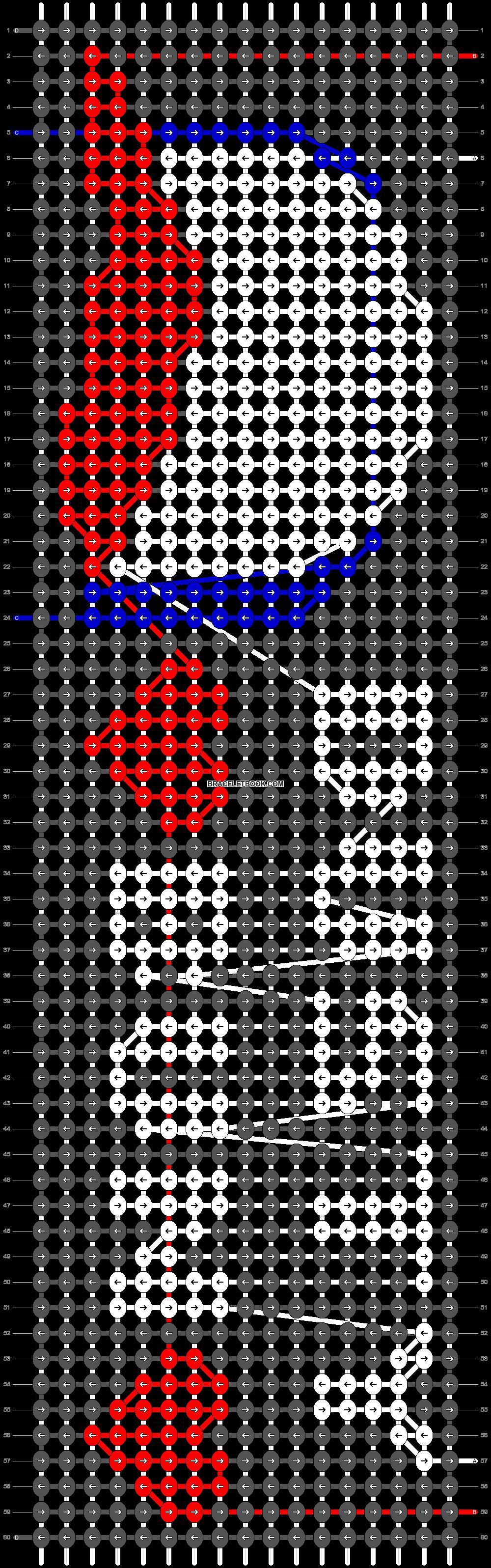 Alpha pattern #29858 pattern
