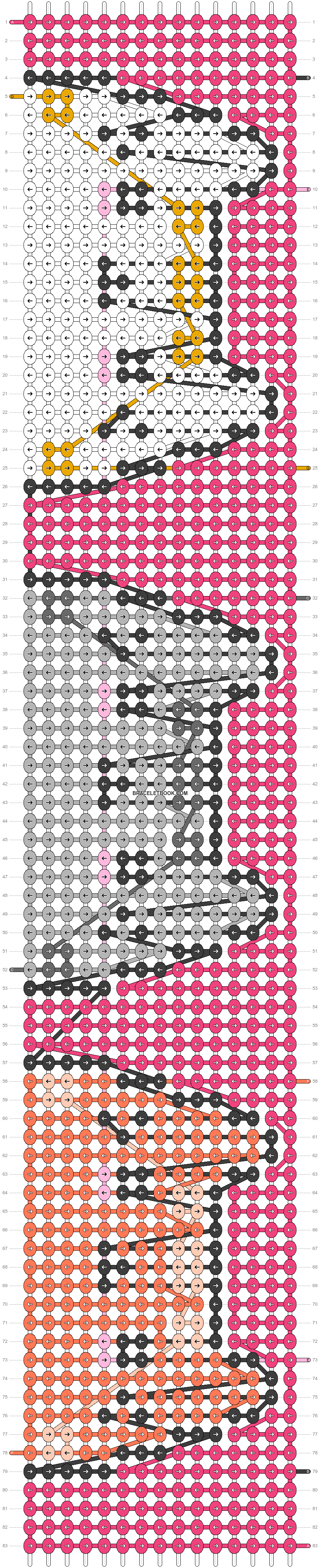 Alpha pattern #29901 pattern