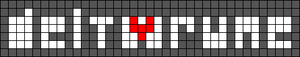 Alpha pattern #29903