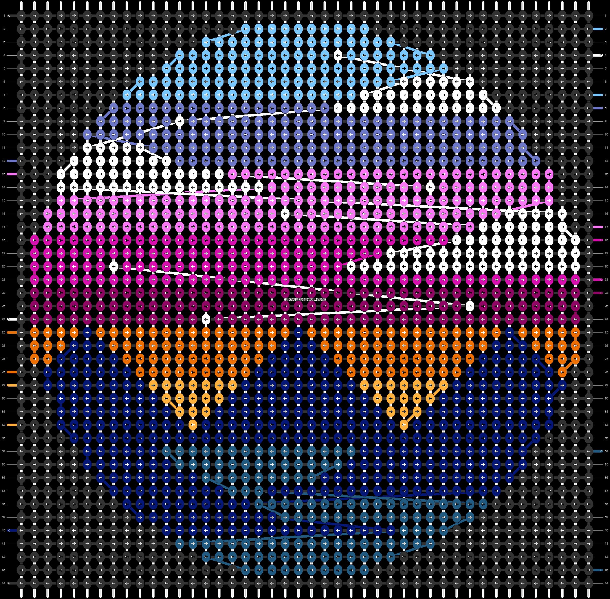 Alpha pattern #29909 pattern
