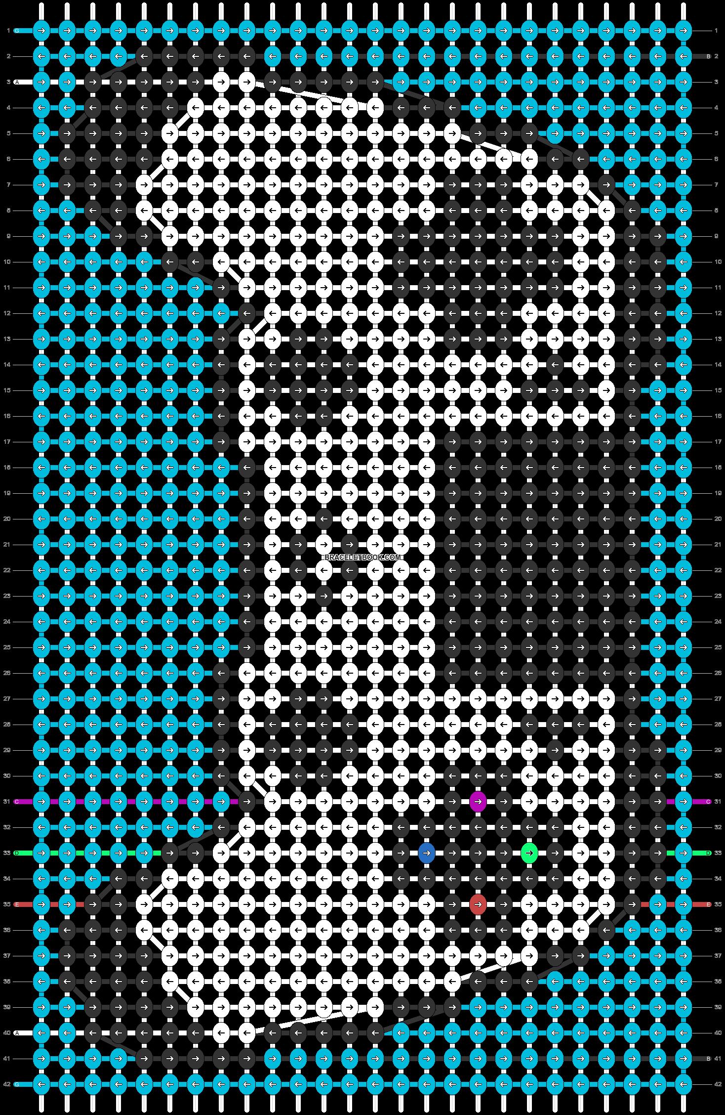 Alpha pattern #29925 pattern