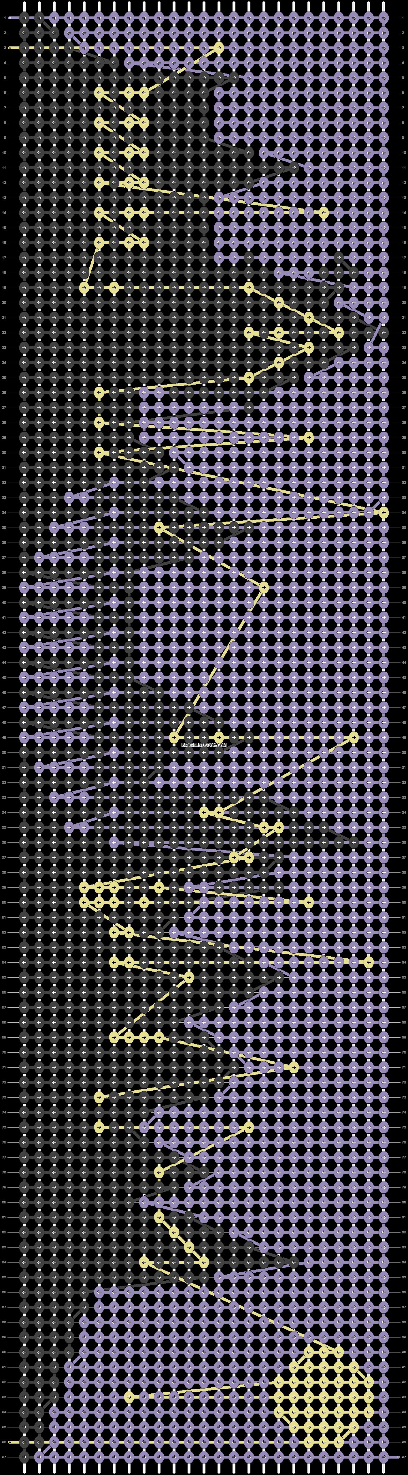 Alpha pattern #29926 pattern
