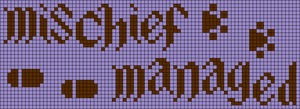 Alpha pattern #29948
