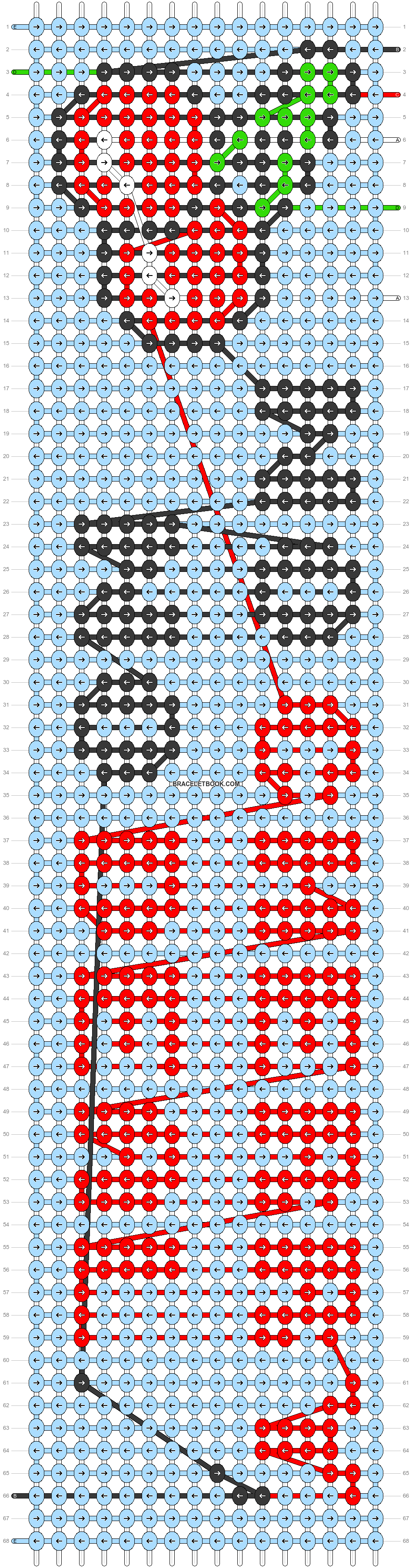 Alpha pattern #29951 pattern