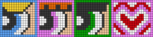 Alpha pattern #29961