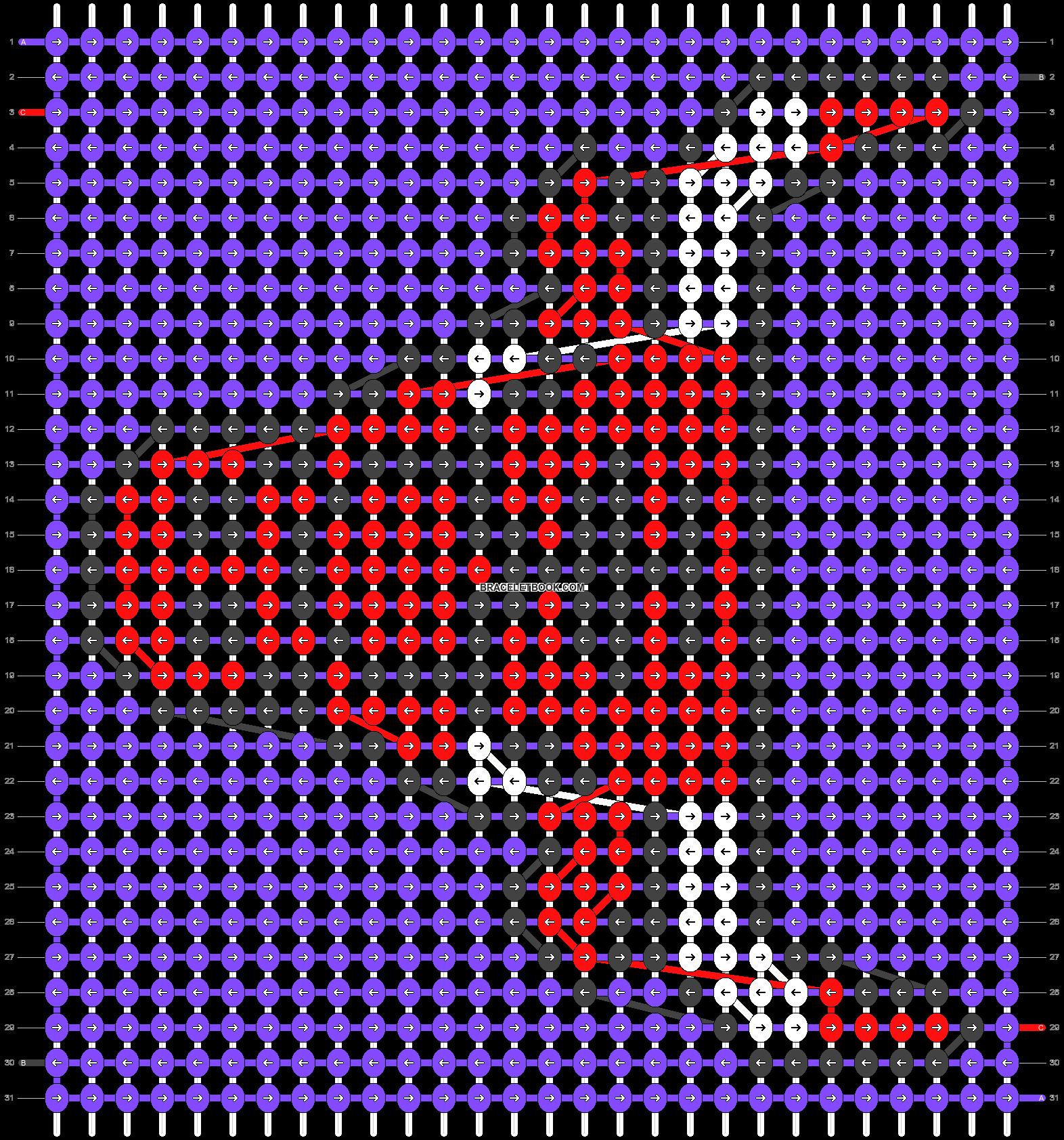 Alpha pattern #29976 pattern