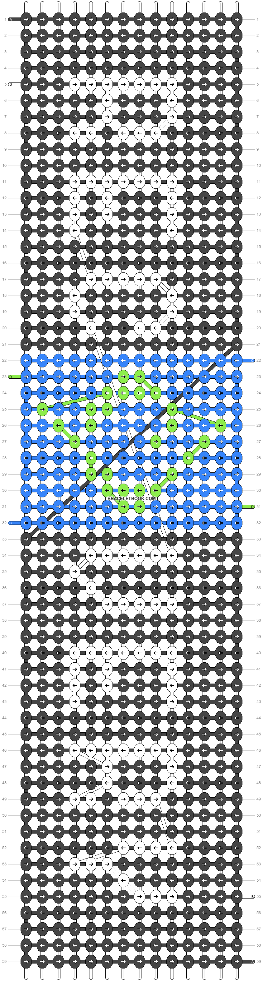 Alpha pattern #29980 pattern