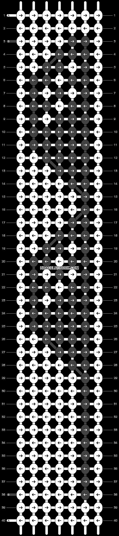 Alpha pattern #29995 pattern