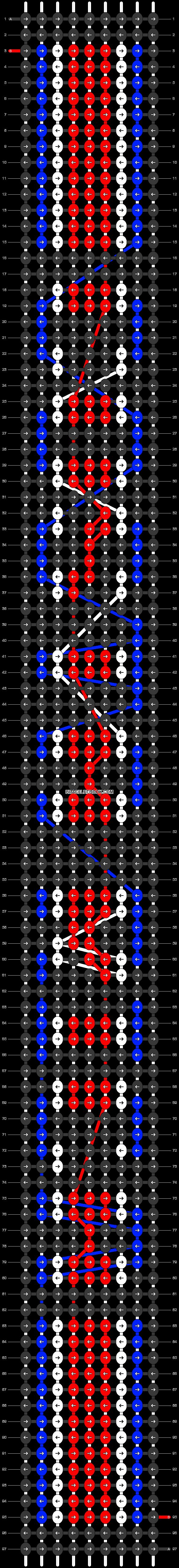 Alpha pattern #30007 pattern