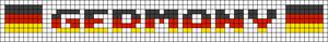 Alpha pattern #30051