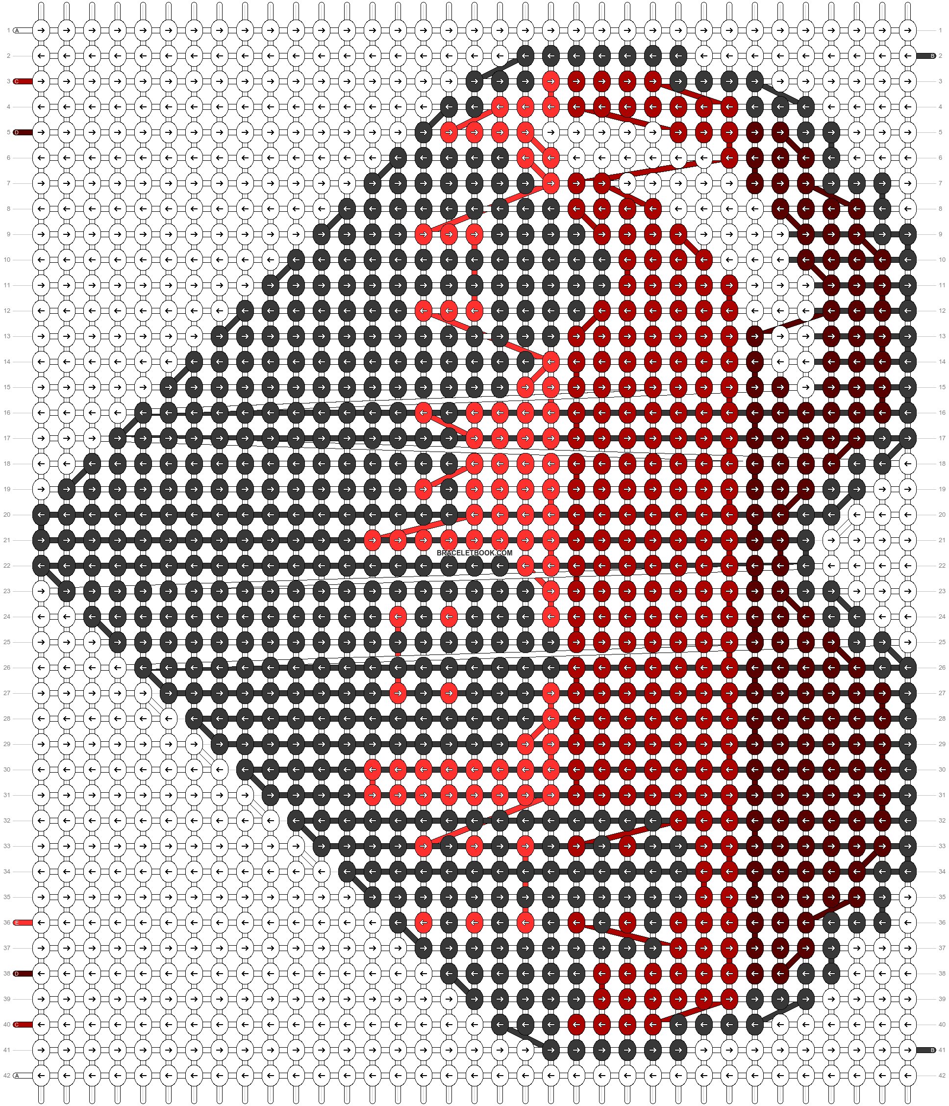 Alpha pattern #30054 pattern