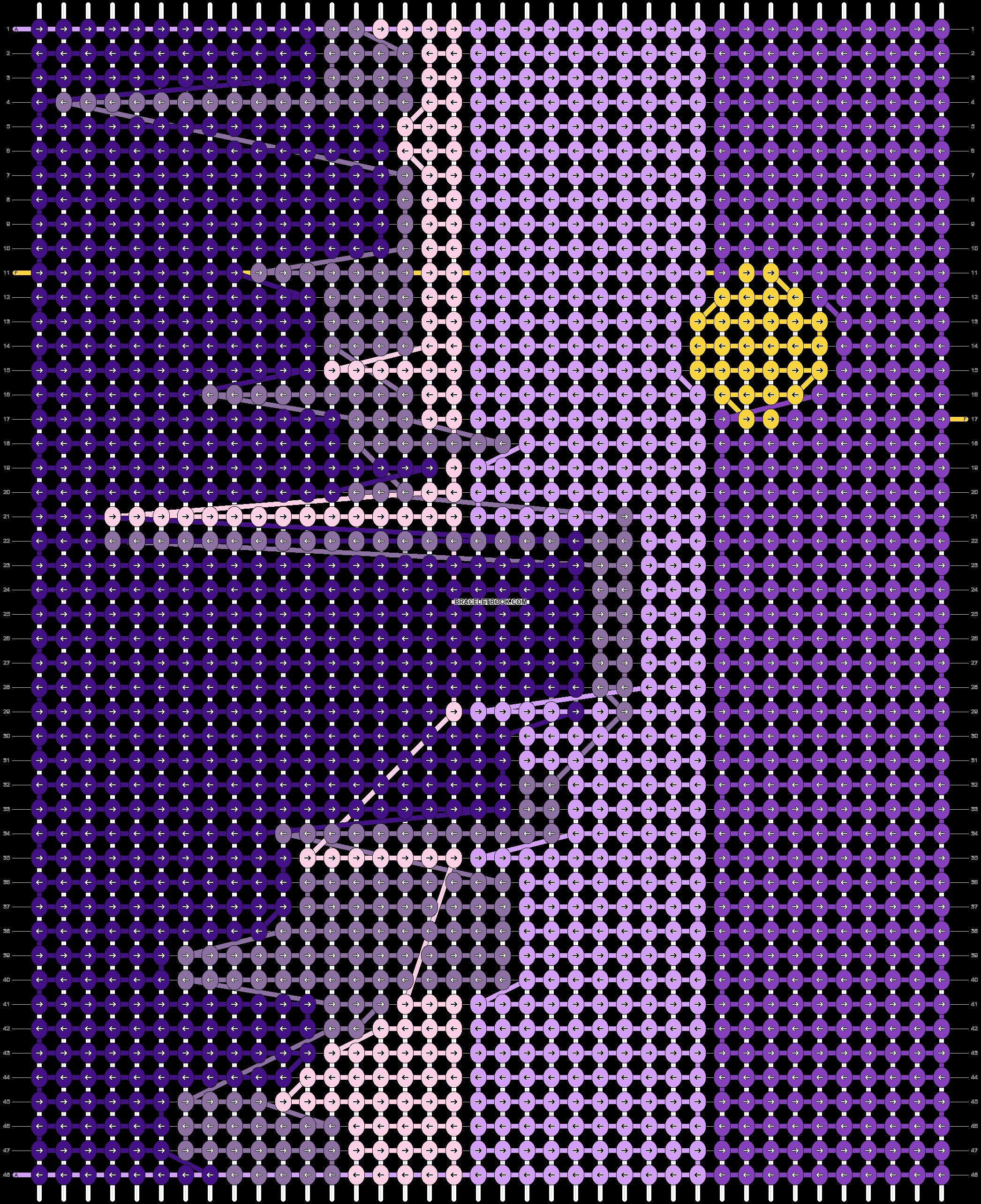 Alpha pattern #30055 pattern
