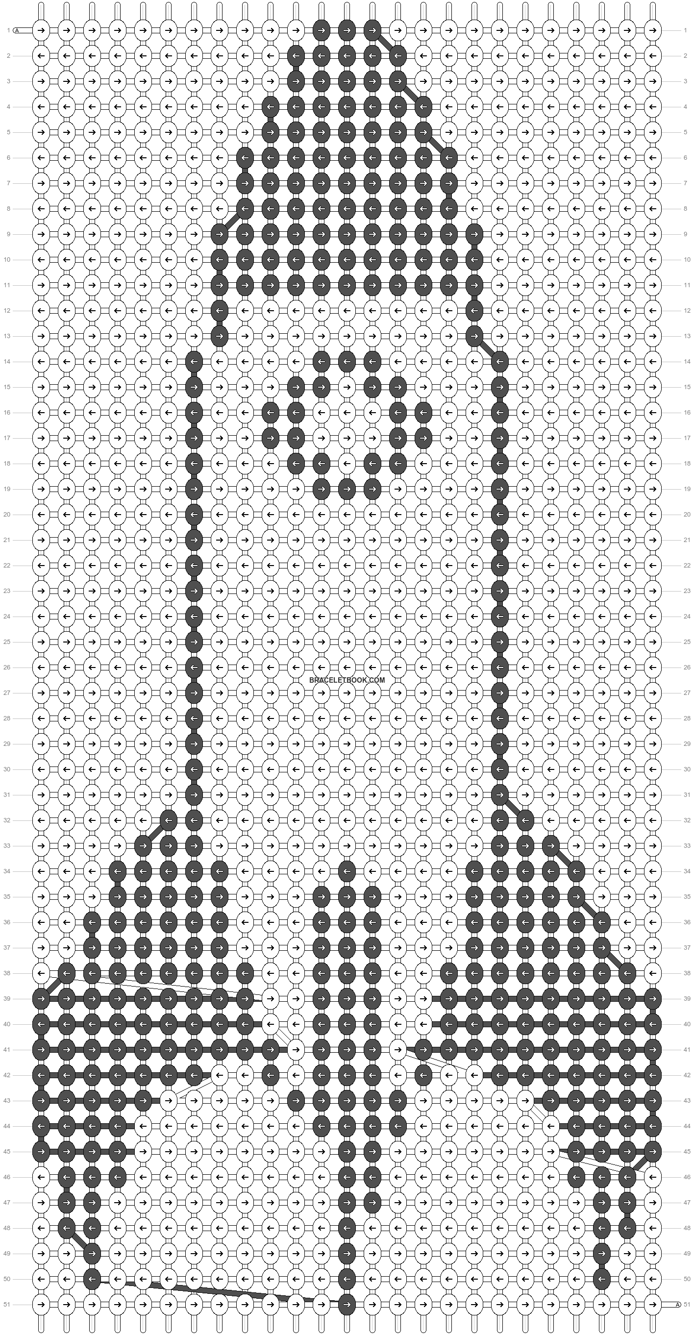 Alpha pattern #30083 pattern