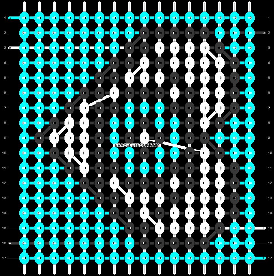 Alpha pattern #30086 pattern