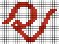 Alpha pattern #30114