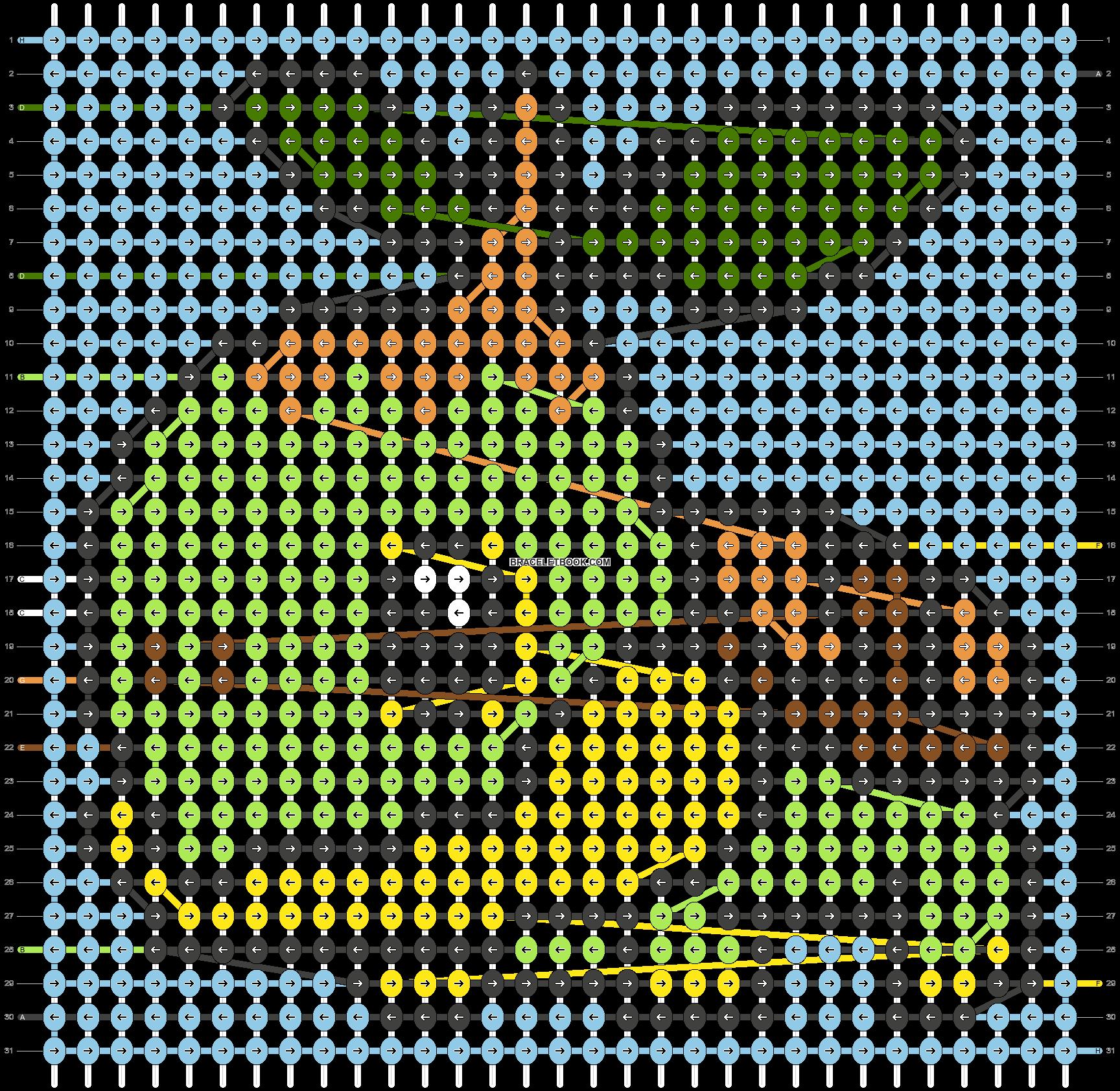 Alpha pattern #30129 pattern