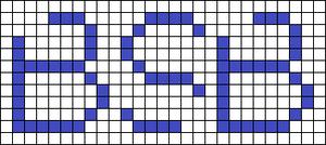 Alpha pattern #30131