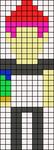 Alpha pattern #30142