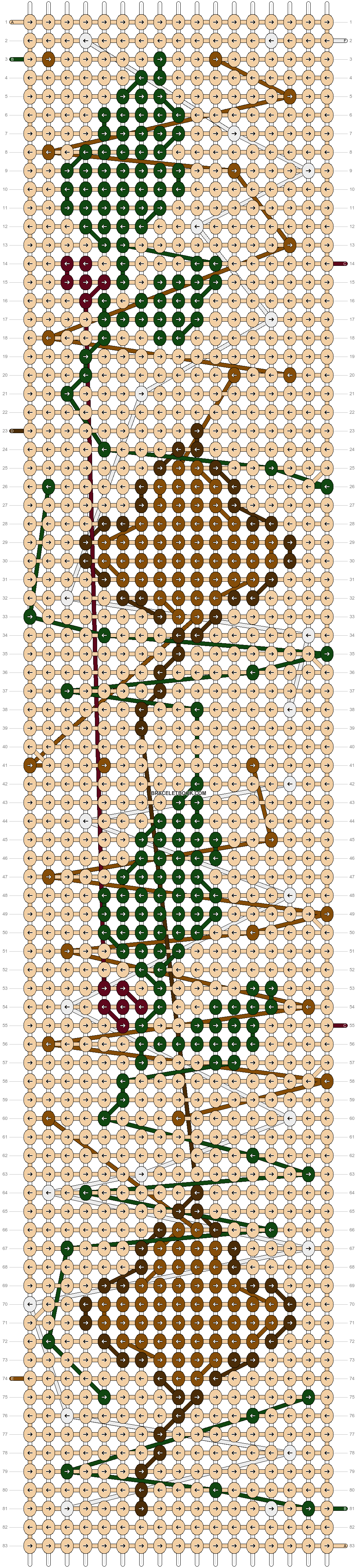 Alpha pattern #30166 pattern