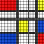 Alpha pattern #30185