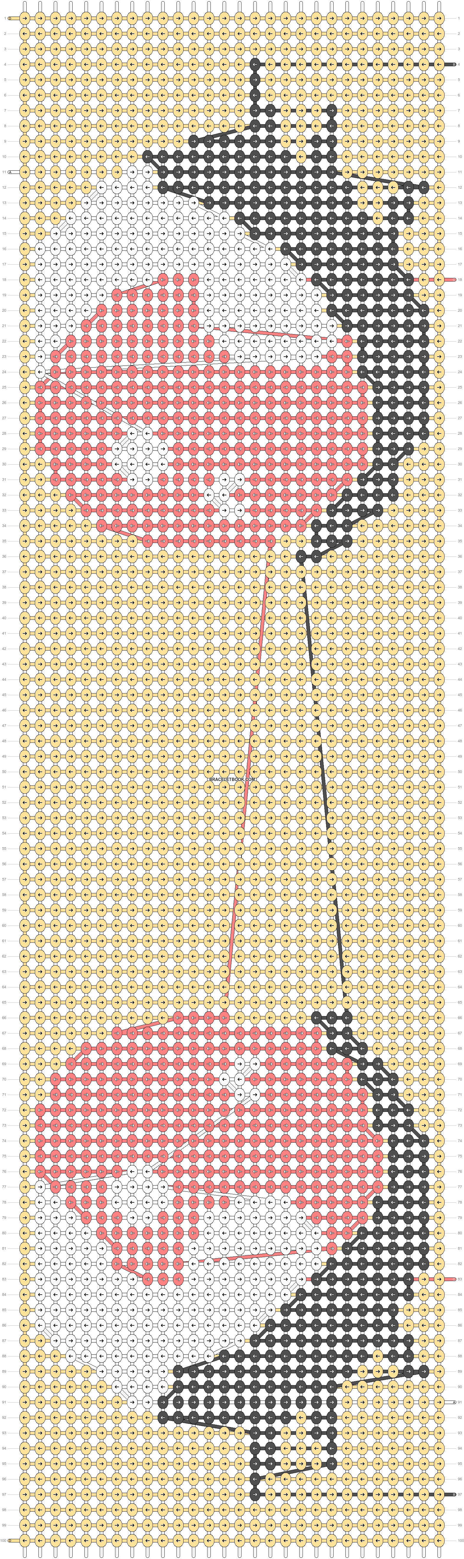 Alpha pattern #30205 pattern
