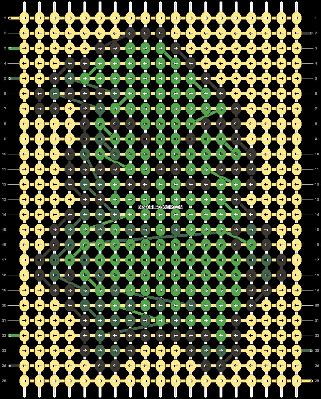 Alpha pattern #30207 pattern