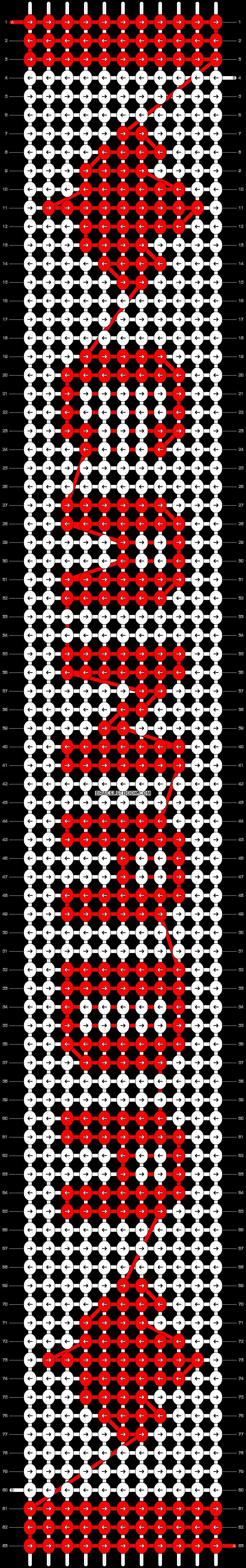Alpha pattern #30274 pattern