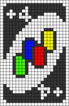 Alpha pattern #30287