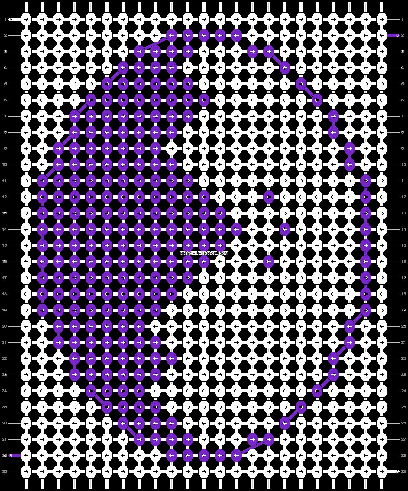 Alpha pattern #30295 pattern