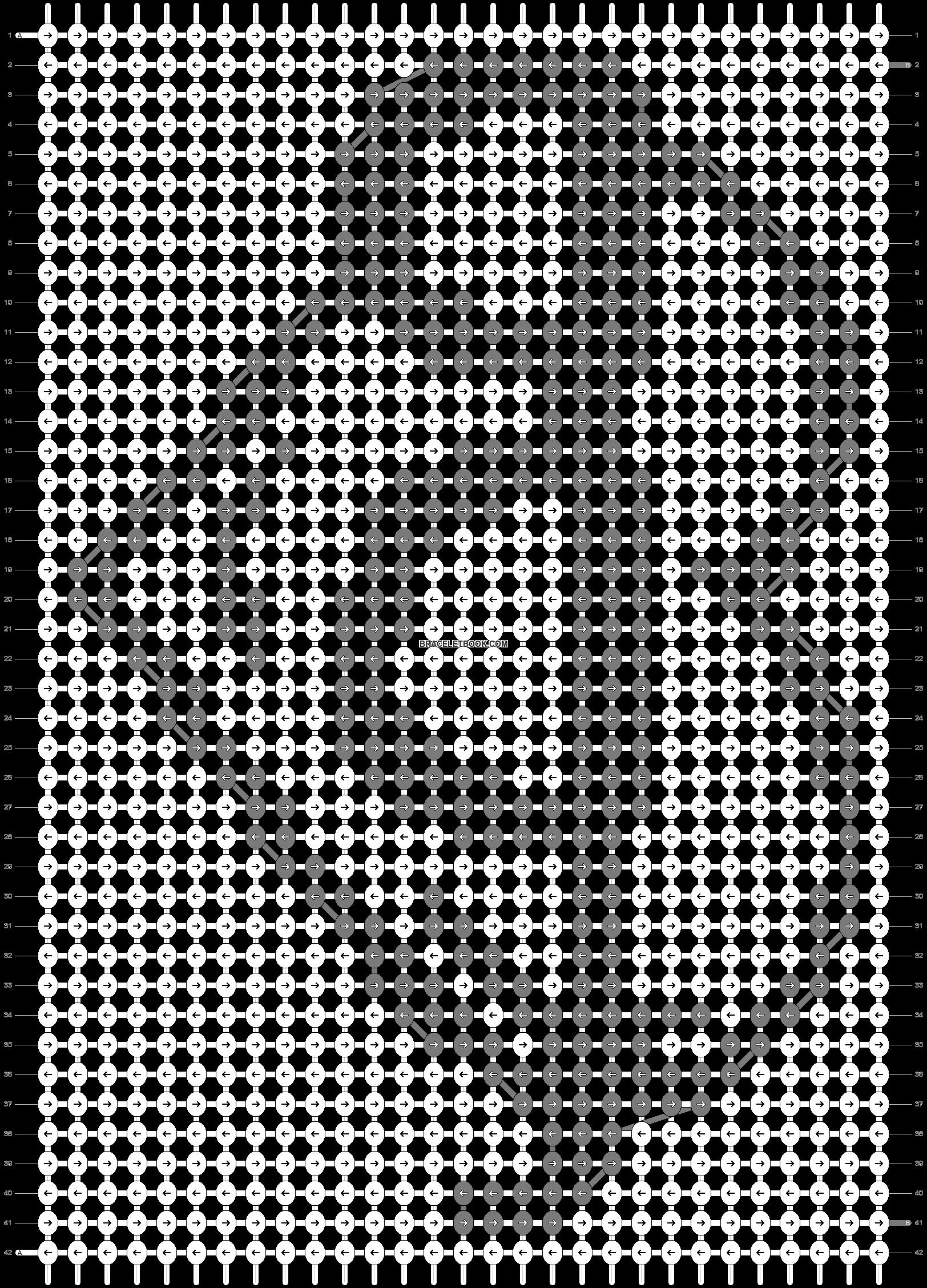 Alpha pattern #30314 pattern
