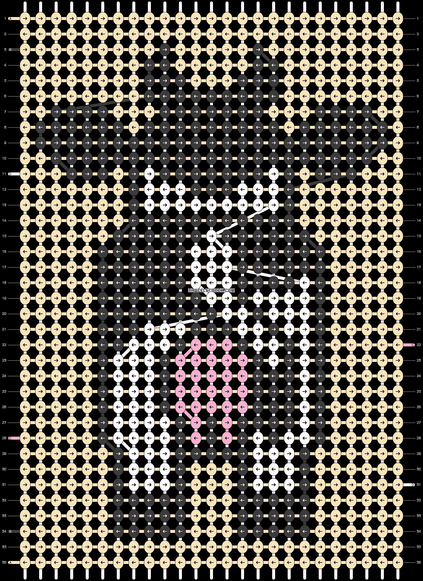 Alpha pattern #30317 pattern