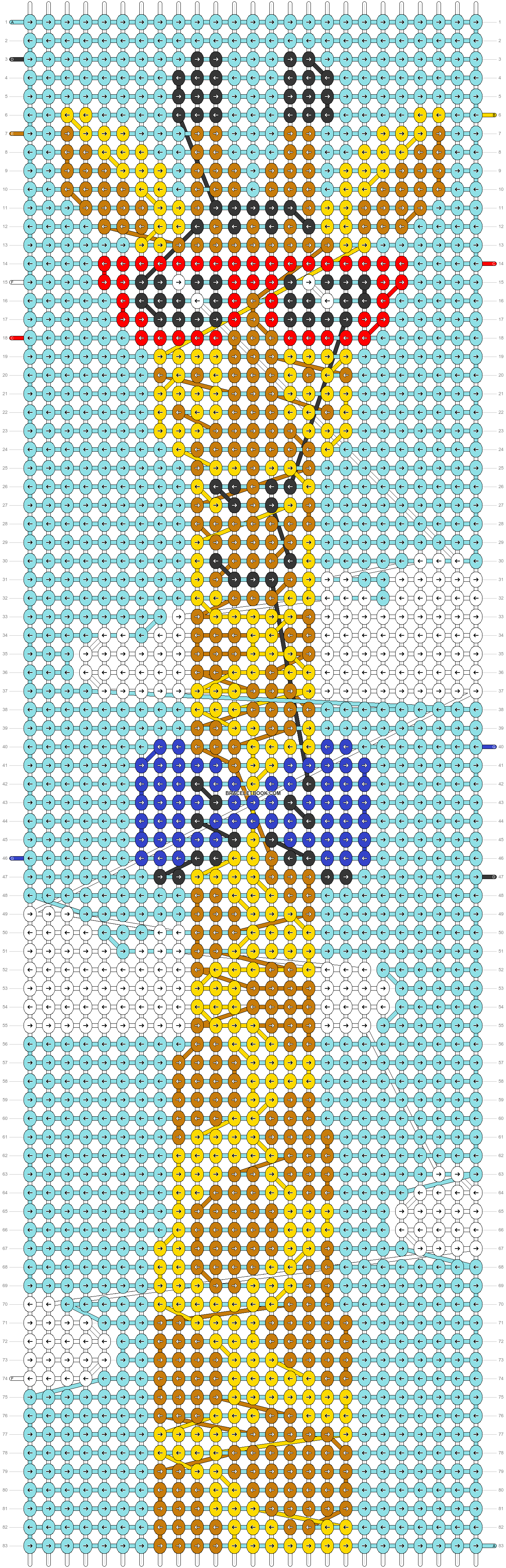 Alpha pattern #30319 pattern