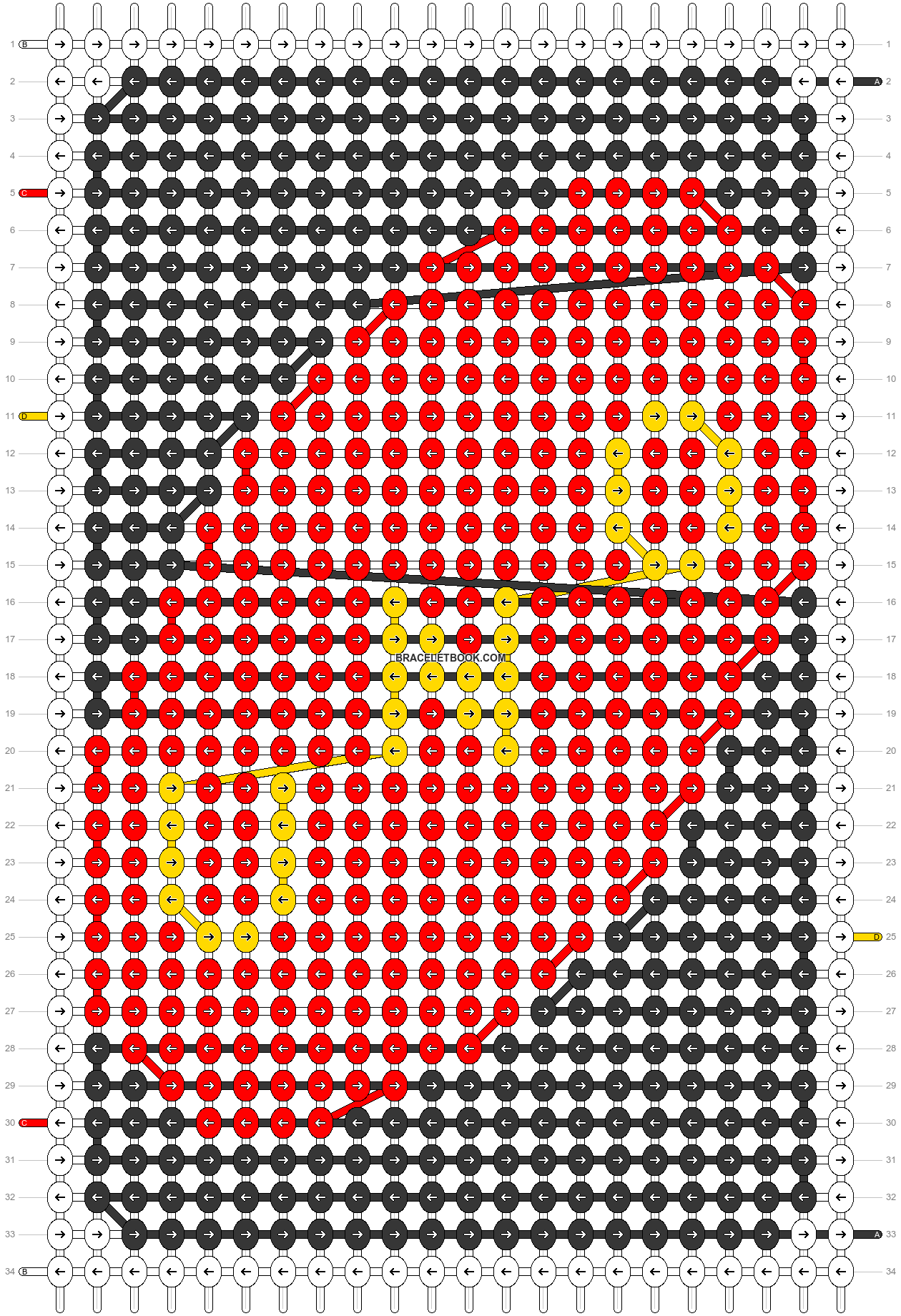 Alpha pattern #30321 pattern