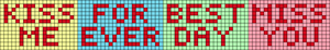 Alpha pattern #30327