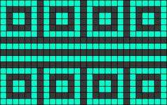 Alpha pattern #30385