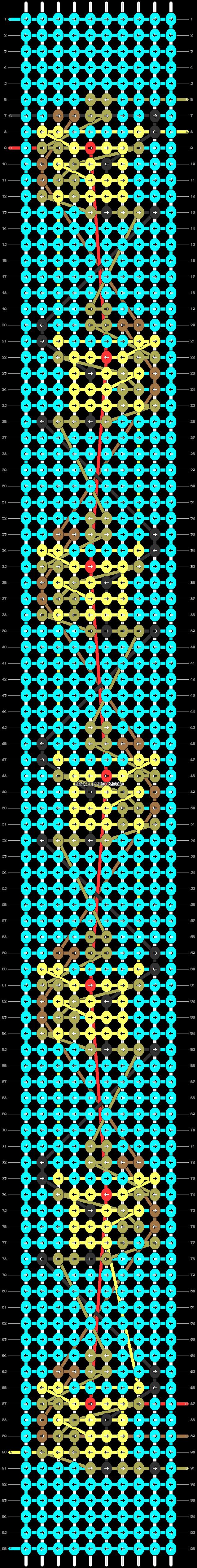 Alpha pattern #30431 pattern