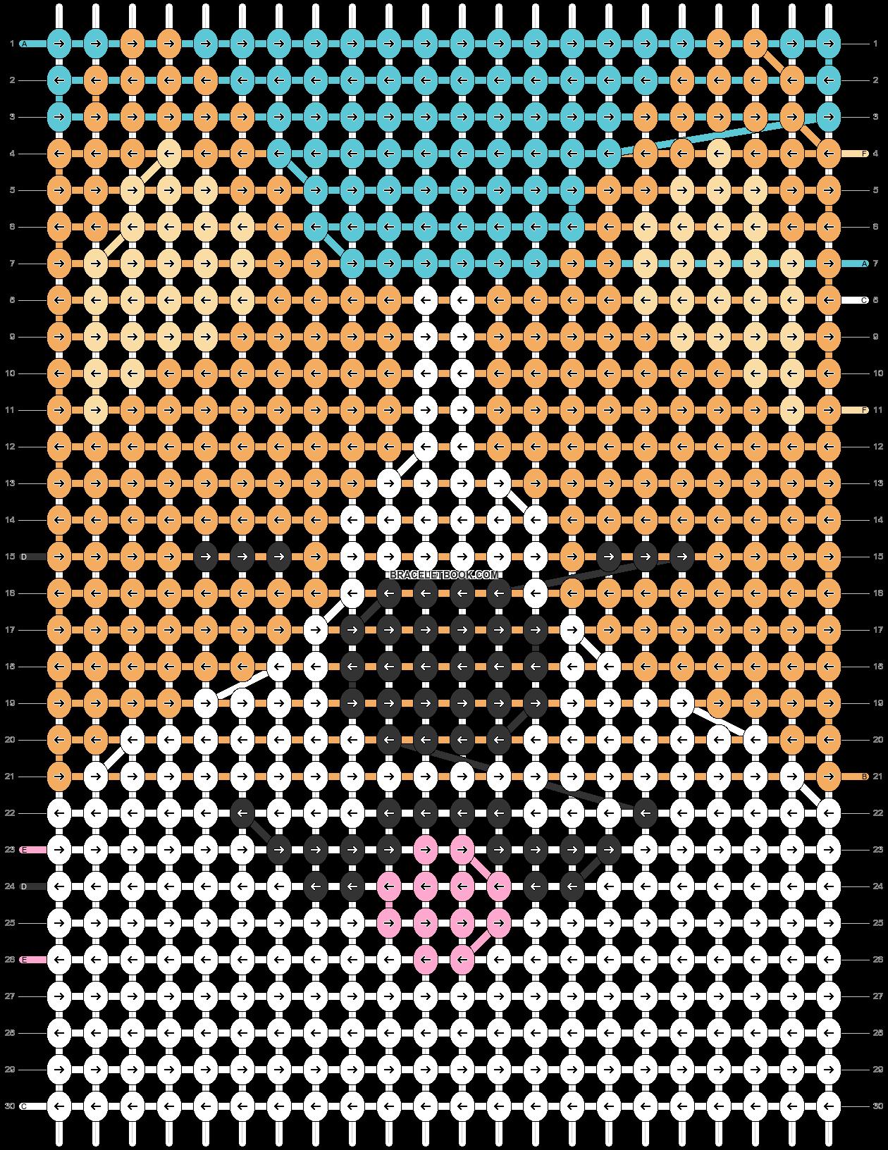 Alpha pattern #30481 pattern