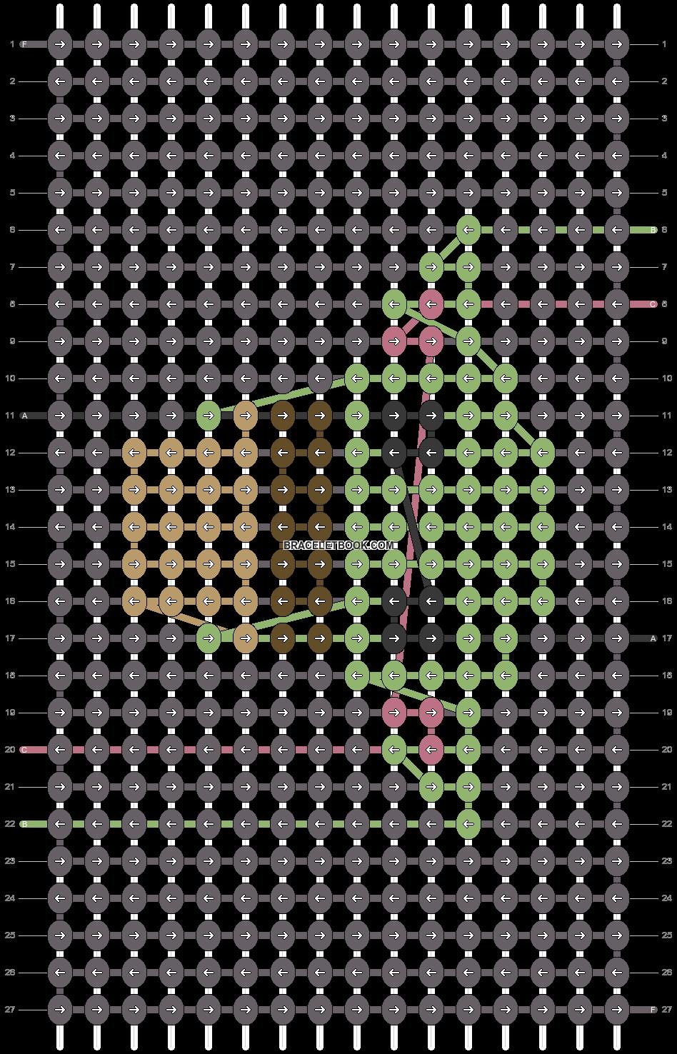 Alpha pattern #30496 pattern
