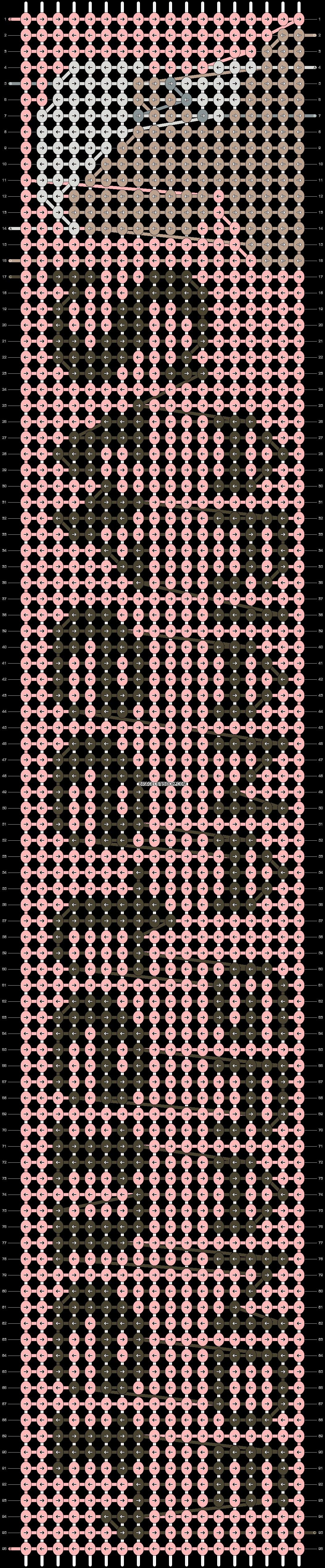 Alpha pattern #30507 pattern