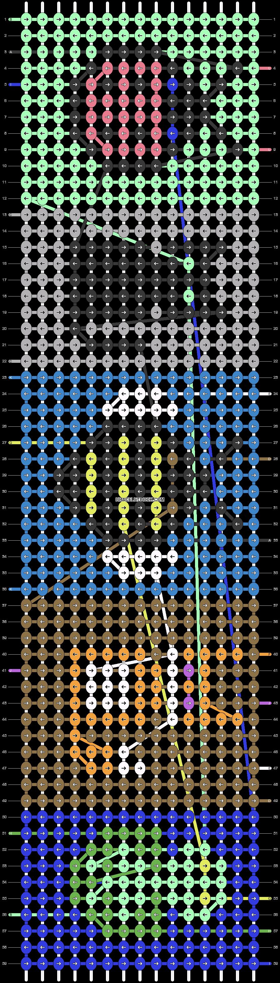 Alpha pattern #30512 pattern
