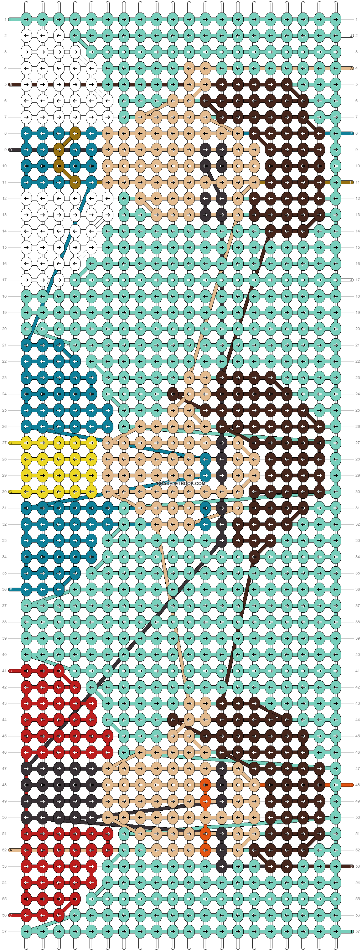 Alpha pattern #30515 pattern